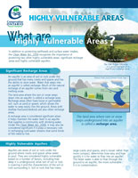 What are Highly Vulnerable Areas