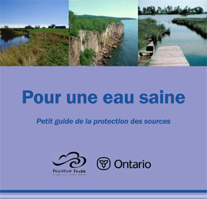 fr clear water act brochure brochureloi eau saine juin 2007