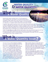 What is a Water Quality Issue